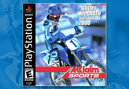PlayStation Jeremy McGrath Supercross 2000