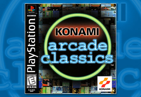 PlayStation Konami Arcade Classics