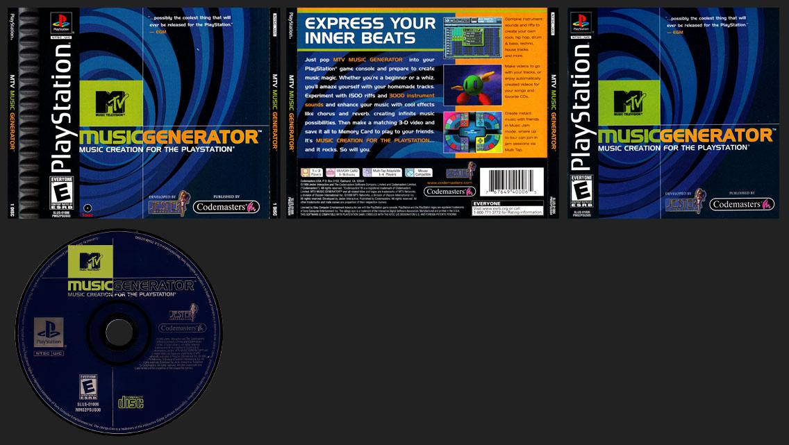 PlayStation MTV Music Generator