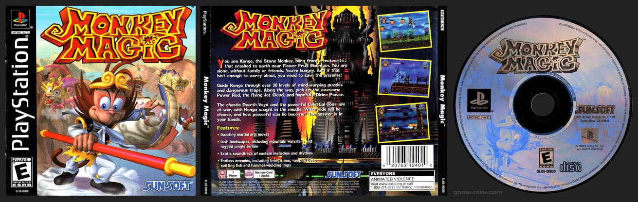 PlayStation Monkey Magic