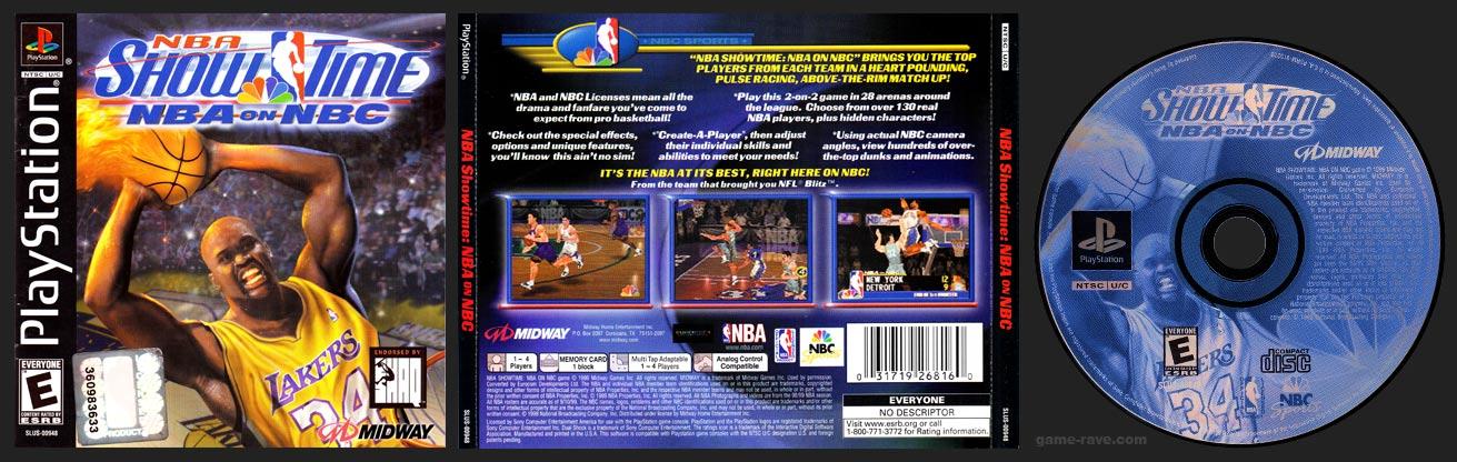 PSX PlayStation NBA Showtime: NBA on NBC Black Label Retail Release