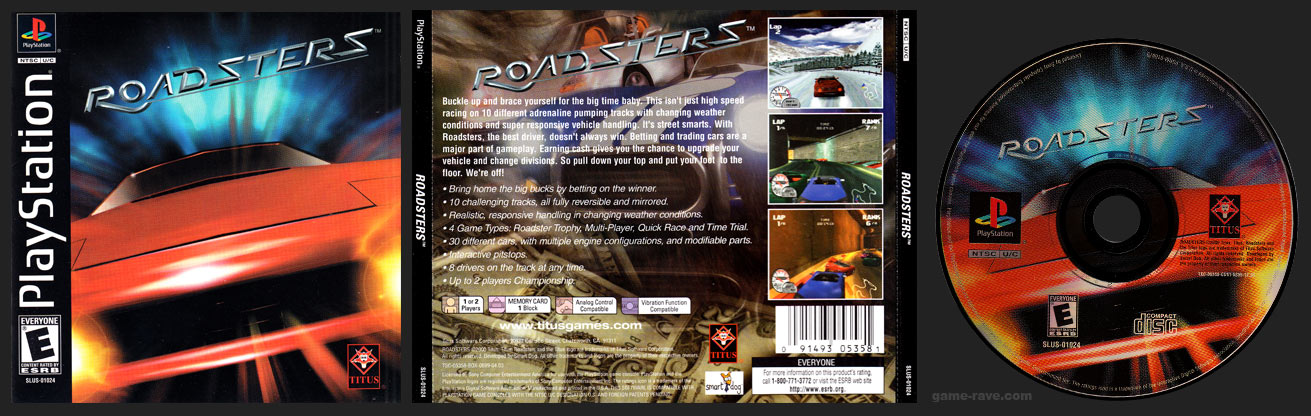 PlayStation Roadsters