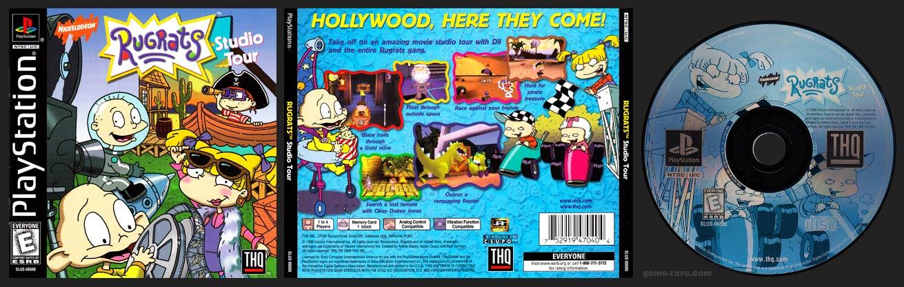 PlayStation Rugrats Studio Tour
