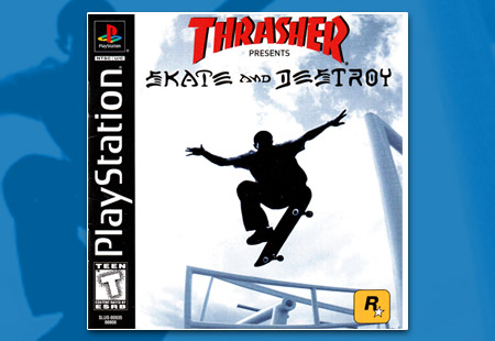 PlayStation Thrasher Skate and Destroy