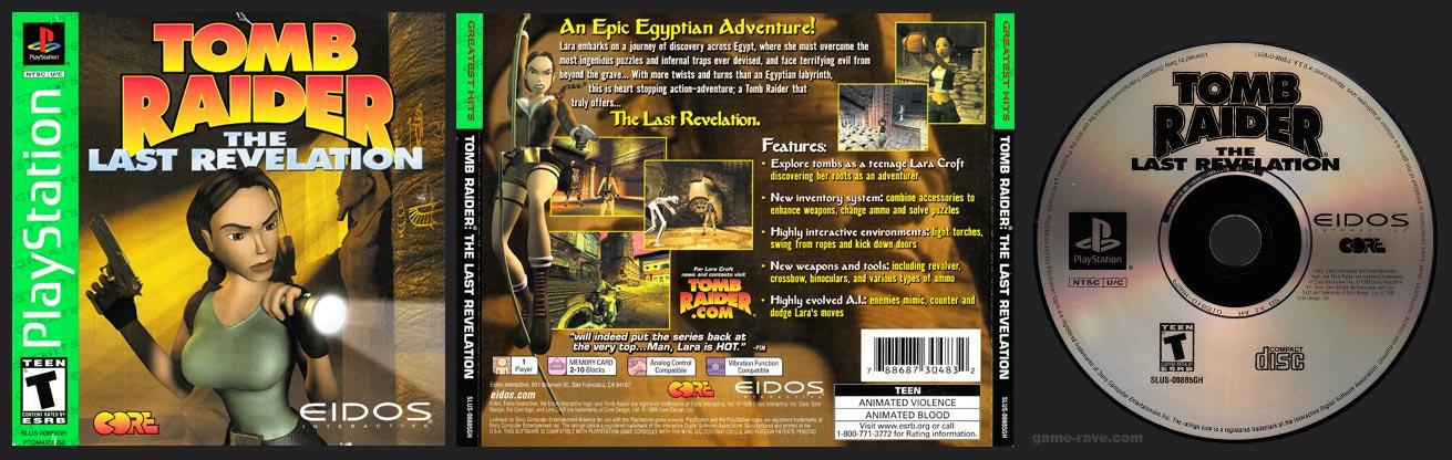 PlayStation Tomb Raider: The Last Revelation