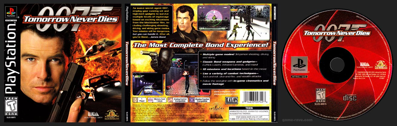 PSX 007 Tomorrow Never Dies