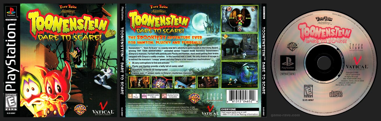 Toonenstein: Dare to Scare!
