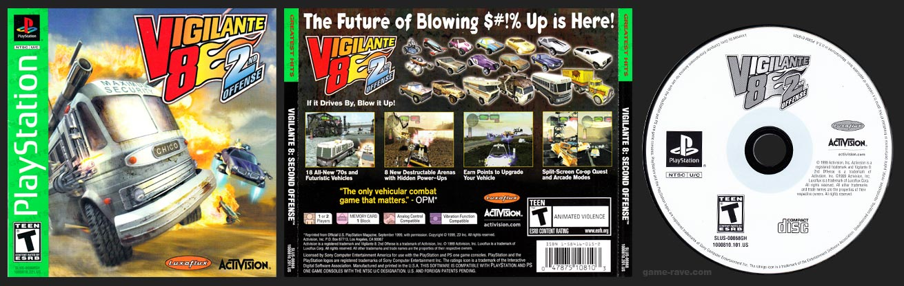 PlayStation Vigilante 8: 2nd Offense