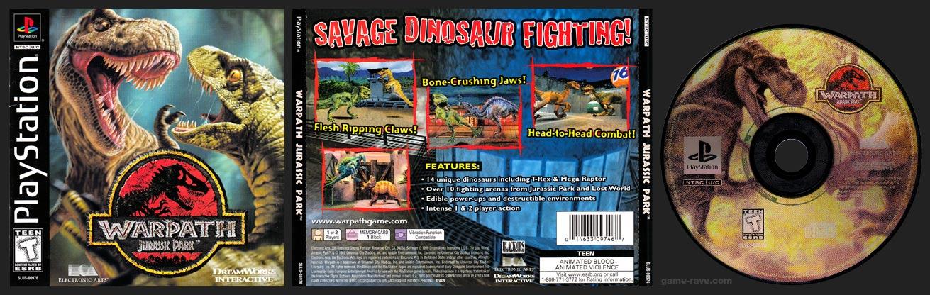PlayStation Warpath: Jurassic Park