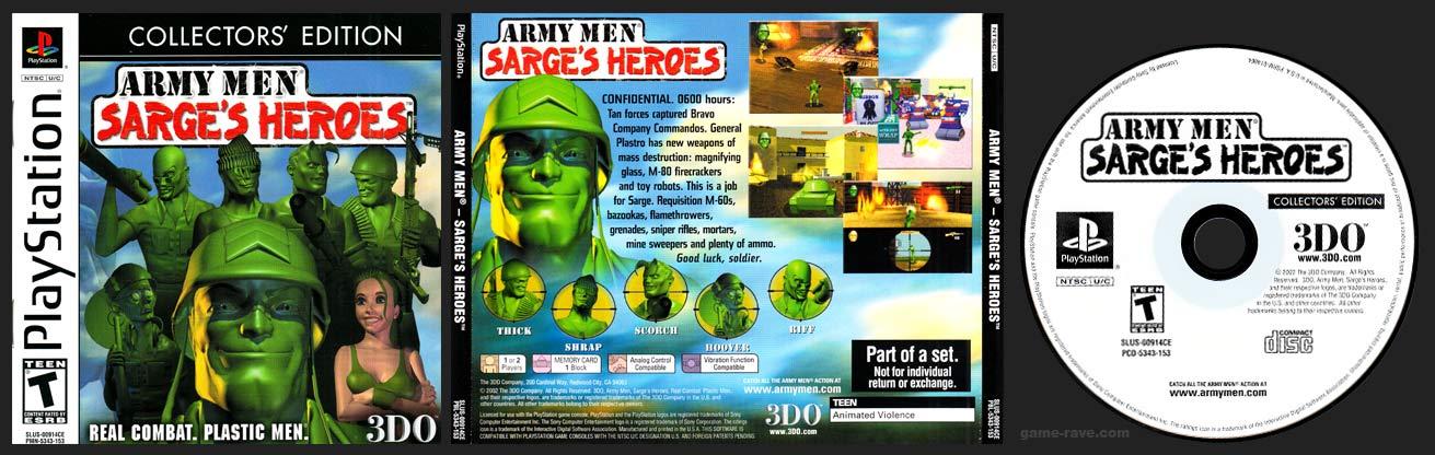 PlayStation Army Men: Sarge's Heroes