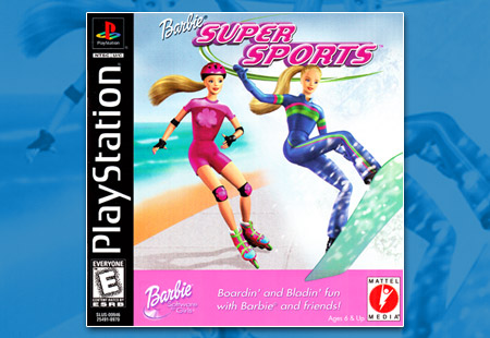 PlaySTation Barbie Super Sports