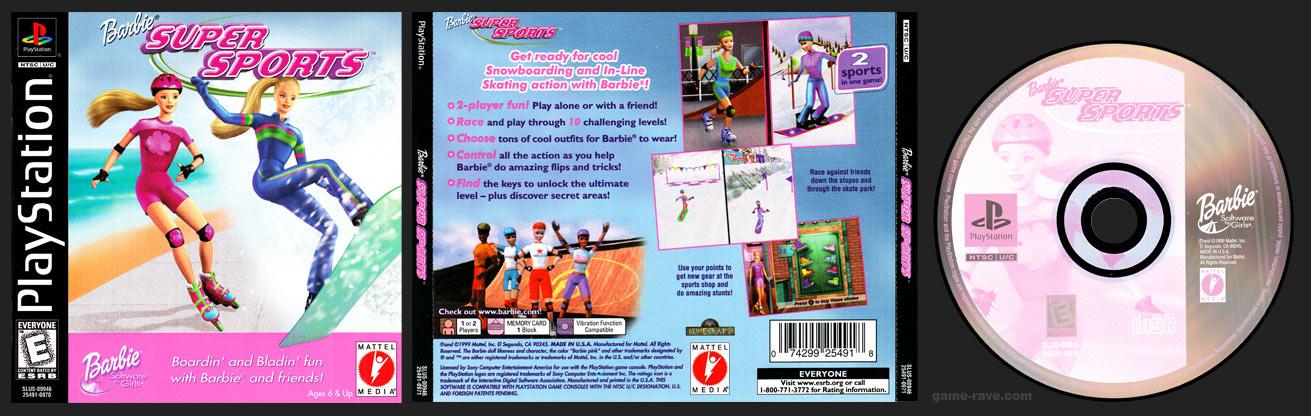 PlayStation Barbie Super Sports