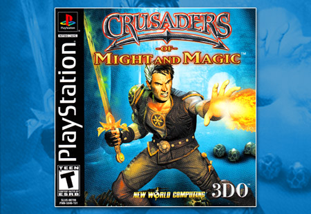PlaySTation Crusaders of Might and Magic