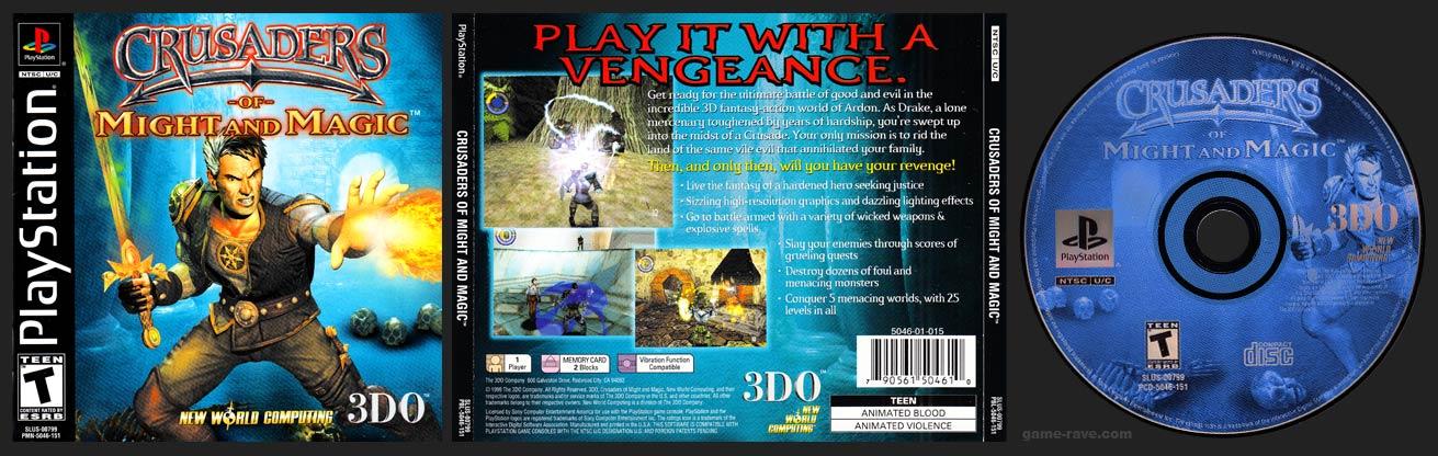 PlayStation Crusaders of Might and Magic