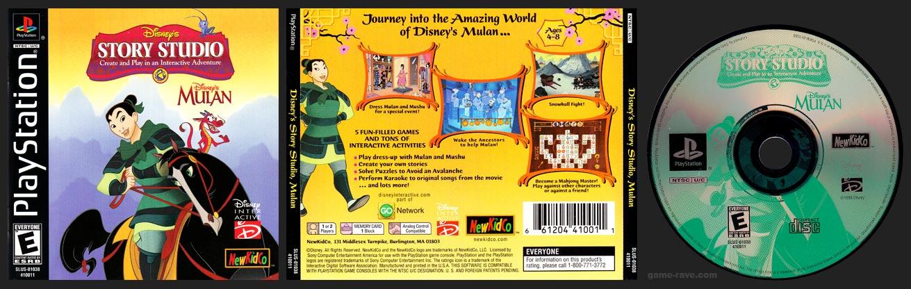 PlayStation Disney's Story Studio Mulan