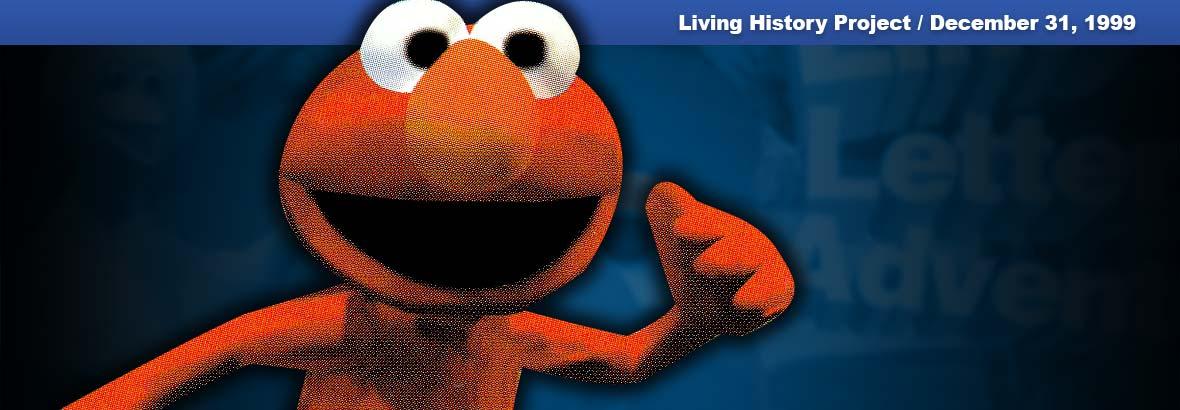 December 31: Elmo's Letter Adventure