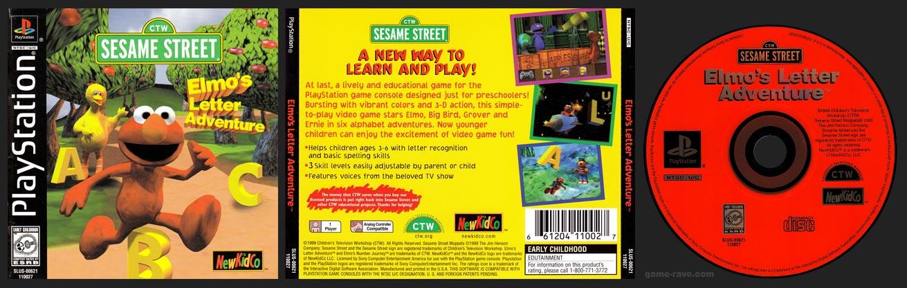 PlayStation Sesame Street: Elmo's Letter Adventure