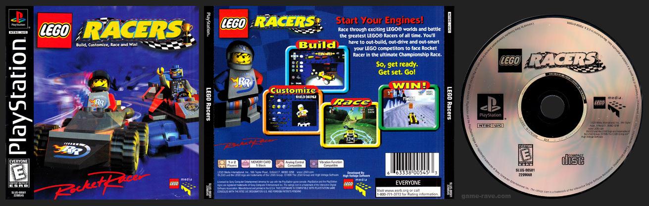 PlayStation Lego Racers