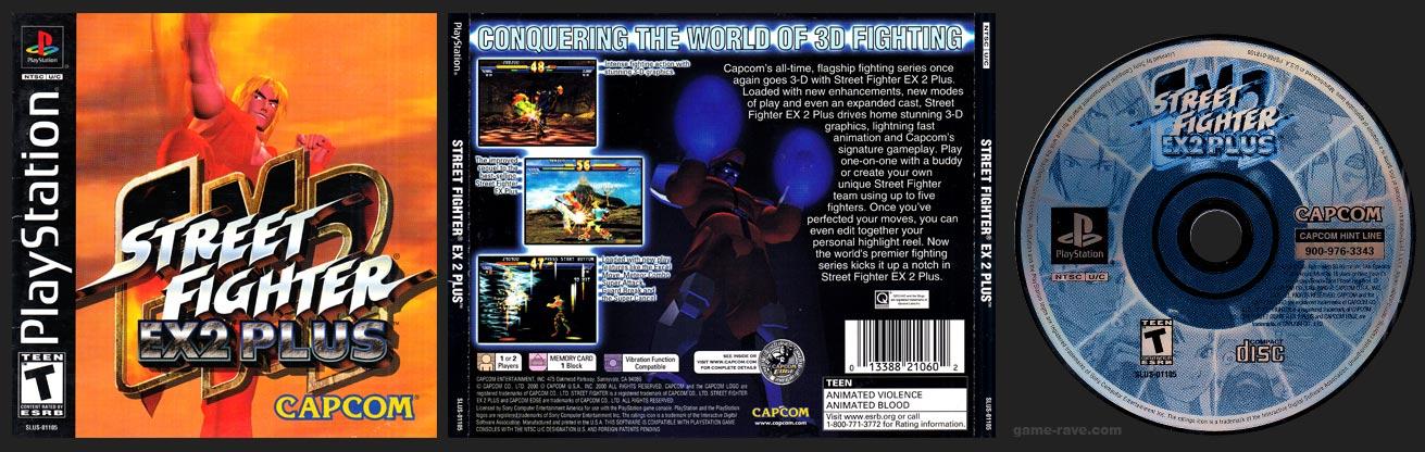 PlayStation Street Fighter EX 2 Plus