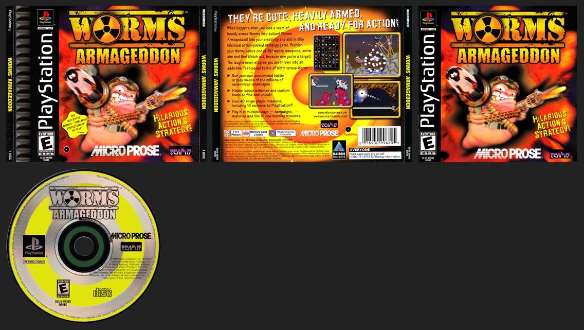 PlayStation Worms Armageddon