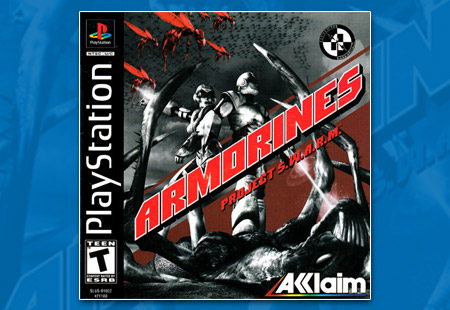 PlayStation Armorines: Project S.W.A.R.M.