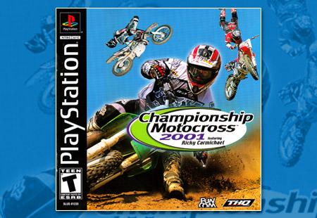 PlaySTation Championship Motocross 2001 Featuring Ricky Carmichael