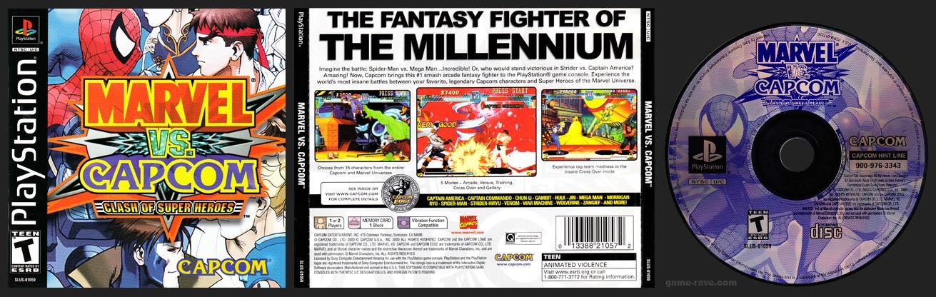 PlayStation Marvel Vs. Capcom: Clash of the Super Heroes