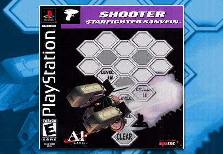 PlayStation Shooter: Starfighter Sanvein