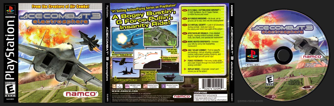PlaySTation Ace Combat 3: Electrosphere