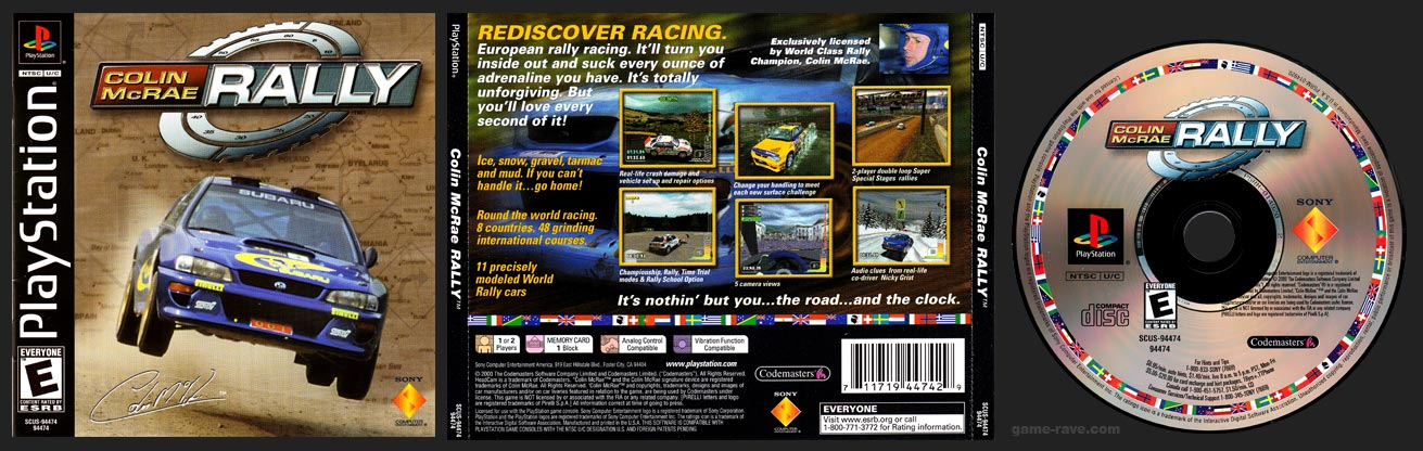 PlayStation Colin McRae Rally