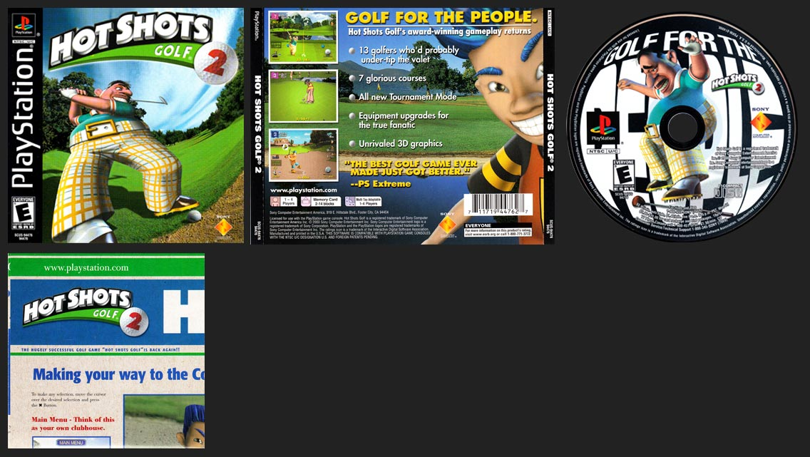 PlayStation Hot Shots Golf 2