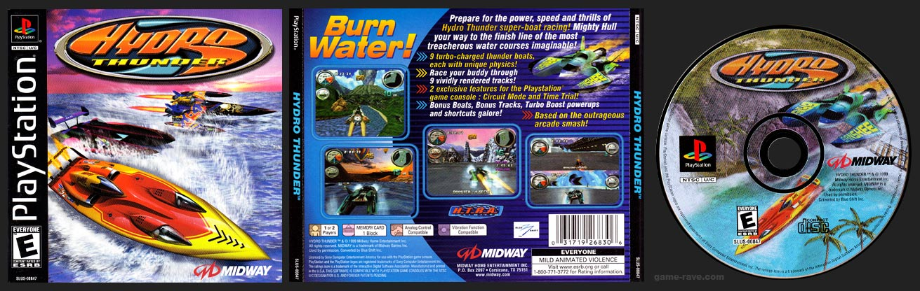 PlayStation Hydro Thunder