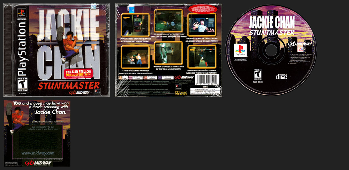 PlayStation Jackie Chan: Stuntmaster is a curious release from Midway where they Motion-Captured Jackie Chan himself...to be used on cartoon characters.