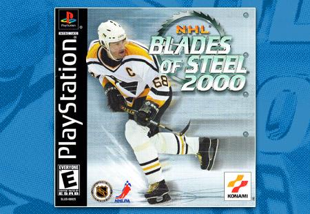 PlaySTation NHL Blades of Steel 2000