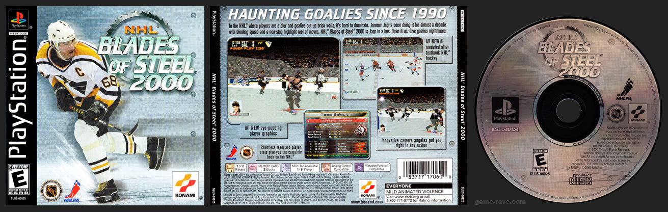 PlayStation NHL Blades of Steel 2000