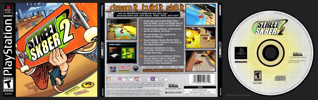 PlayStation Street Sk8er 2