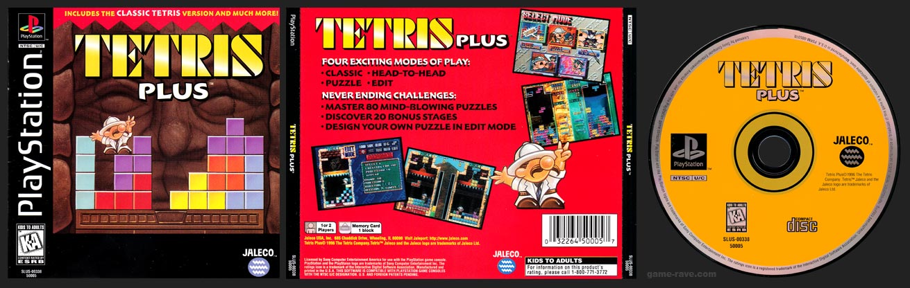 PlayStation Tetris Plus 1 Ring Hub