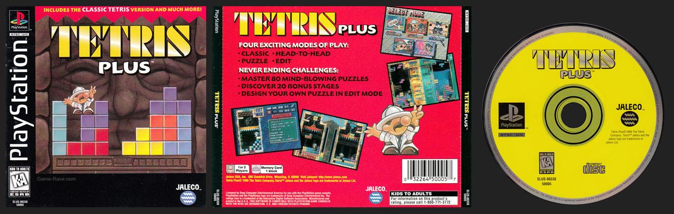 PSX PlayStation Tetris Plus Black Label Retail Release