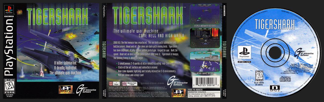 PlayStation Tigershark 2 ring hub variant
