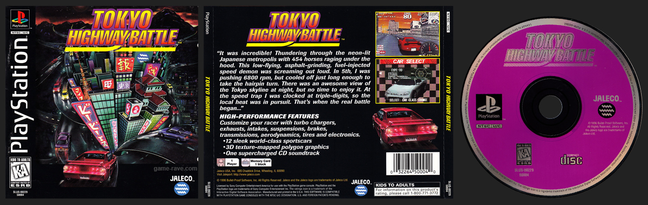 PlayStation Tokyo Highway Battle