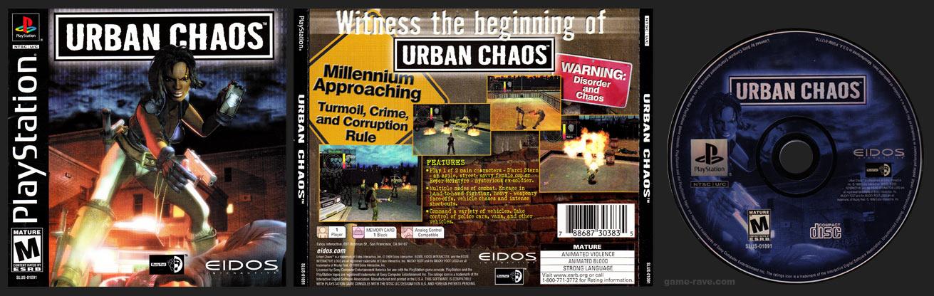 PlayStation Urban Chaos