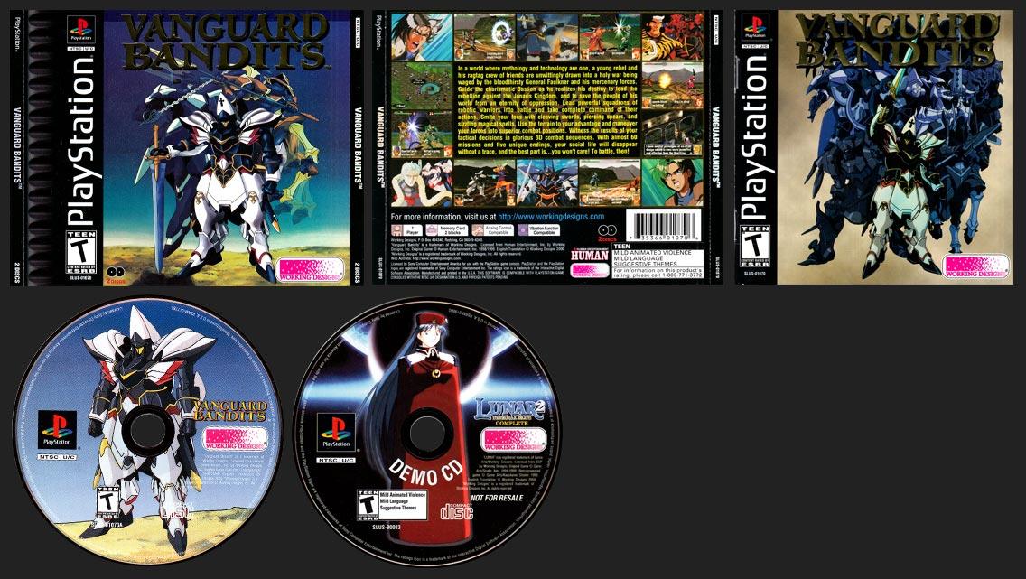 PSX PlayStation Vanguard Bandits Variant A Black Label Retail Release