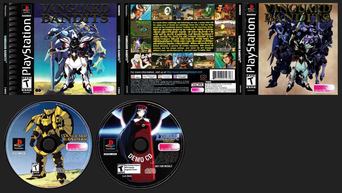 PSX PlayStation Vanguard Bandits Variant B Black Label Retail Release