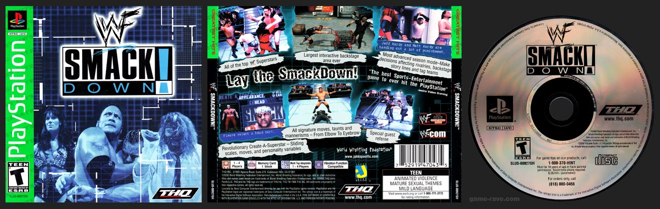 PlayStation WWF Smackdown!