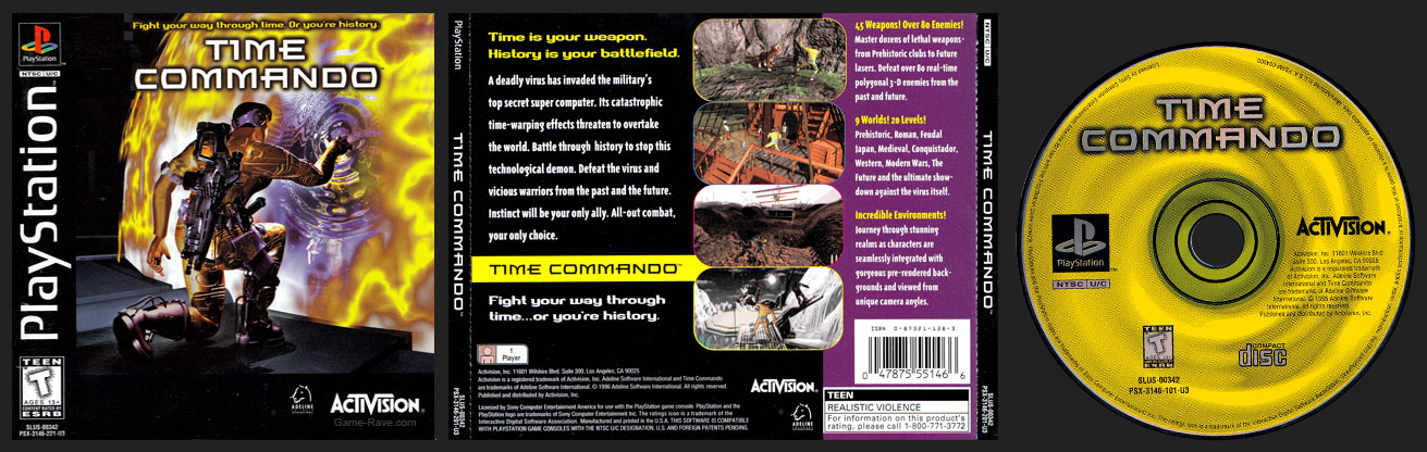 PlayStation Time Commando
