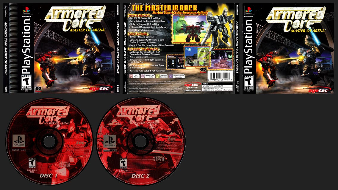 PlayStation Armored Core: Master of Arena