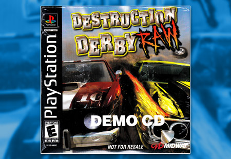 PlayStation Destruction Derby Raw Demo CD