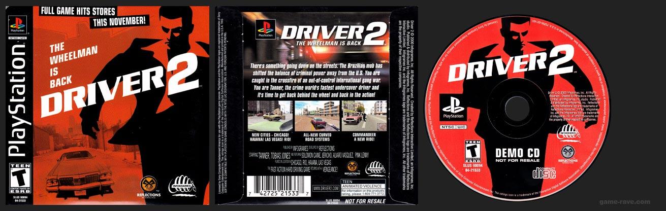 PlayStation Driver 2 Demo CD