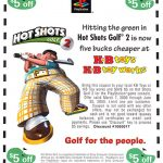 PlayStation Hot Shots Golf 2 Demo Coupon