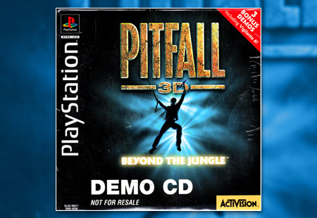PlayStation Pitfall 3D: Beyond the Jungle